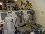 vniřní prostory letounu E-3A AWACS