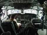 pilotní kabina E-3A AWACS