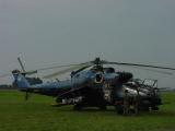 Mi-35 v tygřím zbarvení
