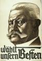 Opět Paul von Hindenburg